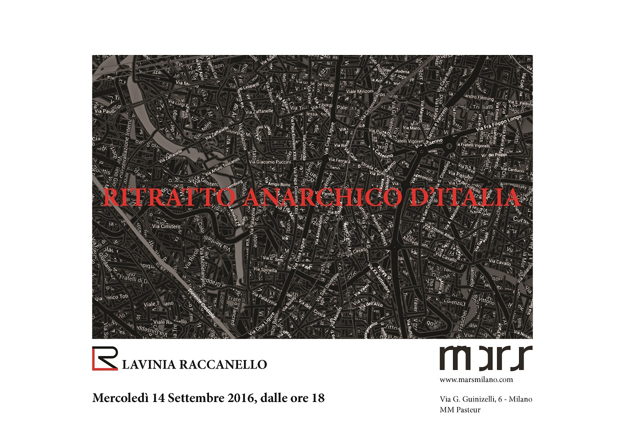 Lavinia Raccanello - Ritratto Anarchico d'Italia